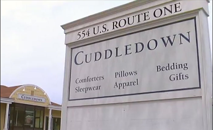 cuddledown outlet store